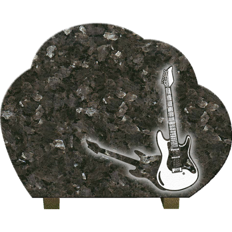 PLAQUE GRANIT GUITARE