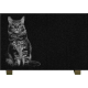 PLAQUE GRANIT CHAT