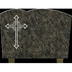 PLAQUE GRANIT RELIGION CATHOLIQUE