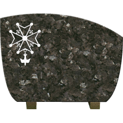 PLAQUE GRANIT RELIGION PROTESTANTE