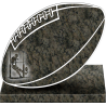PLAQUE GRANIT RUGBY
